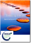 cover image of stepping stones leaflet